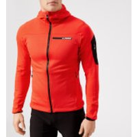 Adidas Terrex Men's Stockhorn Hooded Jacket - Hi-Res Red - XL - Red
