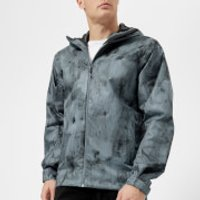 Adidas Terrex Mens Wandertag AOP Jacket - Raw Steel - S - Blue
