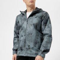 Adidas Terrex Mens Wandertag AOP Jacket - Raw Steel - S - Blue