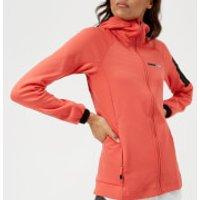 adidas Terrex Womens Stockhorn Hooded Jacket - Trace Scarlett - UK 10 - Red