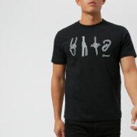 Berghaus Men's Krabs and Knots Short Sleeve T-Shirt - Jet Black - L - Black