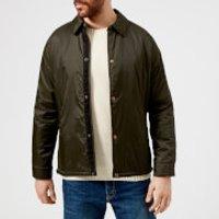 Barbour Heritage Men's Eel Quilt Jacket - Sage - L - Green