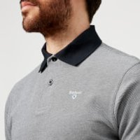 Barbour Mens Sports Polo Mix Shirt - Midnight - XXL - Blue