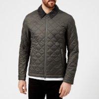 Barbour Mens Helm Quilted Jacket - Grey - XXL - Grey