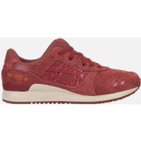 Asics-Lifestyle-Mens-GelLyte-III-Trainers-Russet-Brown-UK-9-Brown