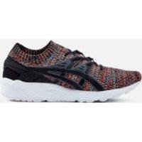 Asics Lifestyle Mens Gel-Kayano Knit Trainers - Carbon/Black - UK 7 - Grey
