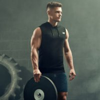 Men's Training Outfit - XXL - XXL - Charcoal Shorts