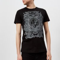 Versace Jeans Men's Chest Logo T-Shirt - Nero - L - Black