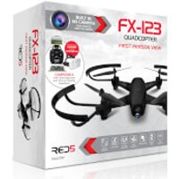 RED5 FX123 Quadcopter - Black - Red5 Gifts