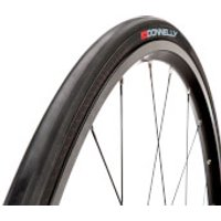 Donnelly Strada LGG SC Wired Clincher Road Tyre - 700X23C - Black/Black
