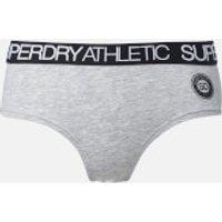 Superdry Womens Athletic Boxers - Grey Marl - UK 14 - Grey