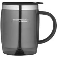 Thermos ThermoCafe Translucent Desk Mug - Gun Metal 450ml