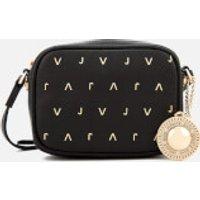 Versace Jeans Womens Embellished Camera Bag - Black