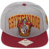 Harry Potter Gryffindor Snapback Cap - Grey - Harry Potter Gifts