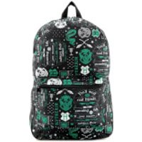 Harry Potter Slytherin Icon Sublimated Backpack - Black - Harry Potter Gifts
