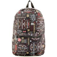 Harry Potter Gryffindor Icon Sublimated Backpack - Black - Harry Potter Gifts