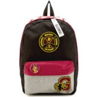 Harry Potter Gryffindor House Backpack with Patches - Black - Harry Potter Gifts