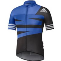adidas Men's Adistar Jersey - Blue - S - Blue