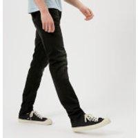 Nudie Jeans Mens Lean Dean Jeans - Black Star - W34/L34 - Black
