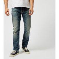 Nudie Jeans Mens Dude Dan Jeans - Worn Well Comf. - W32/L34 - Blue