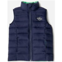 Joules Boys' Crofton Padded Gilet - French Navy - 6 Years - Navy