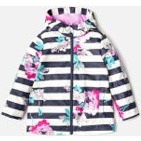 Joules Girls Raindance Waterproof Coat - Margate Floral - 5 Years - Multi