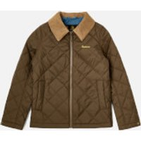 Barbour Boys Helm Jacket - Olive - 8-9 years/M - Green