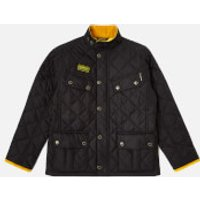 Barbour International Boys' Quilted Ariel Jacket - Black - L/10-11 years
