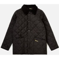 Barbour Boys Liddesdale Jacket - Black - M/8-9 years