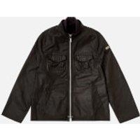 Barbour Boys Bar Wax Jacket - Black - 2-3 years/XXS - Black