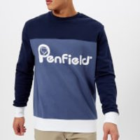 Penfield Mens Orso Sweatshirt - Peacoat - M - Blue
