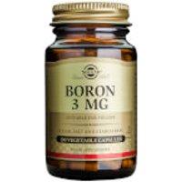 Solgar® Boron 3mg - 100 Vegicaps