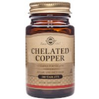 Solgar® Chelated Copper - 100 Tablets