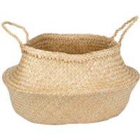 Parlane Chau Palm Leaf Basket - Natural - Storage Gifts