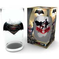 Batman Vs Superman Logo Large Glasses 16oz - Superman Gifts