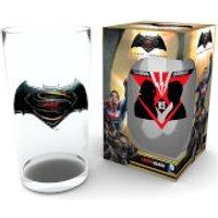 Batman Vs Superman Vs Large Glasses 16oz - Kitchen Gifts