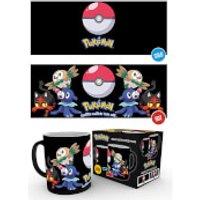 Pokemon Evolve Heat Change Mug - Pokemon Gifts