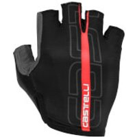 Castelli Tempo Gloves - L - Black/Red