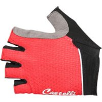 Castelli Women's Roubaix Gel Gloves - Red - L - Red