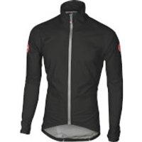 Castelli Emergency Rain Jacket - Black - L - Black