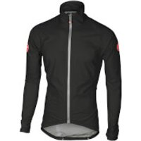Castelli Emergency Rain Jacket - M - Black