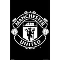 Manchester United Crest 17/18 Maxi Poster 61 x 91.5cm - Manchester United Gifts