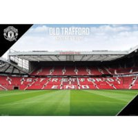 Manchester United Old Trafford 17/18 Maxi Poster 61 x 91.5cm - Manchester United Gifts