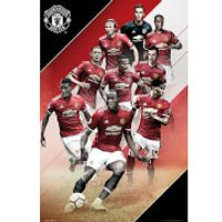 Manchester United Players 17/18 Maxi Poster 61 x 91.5cm - Manchester United Gifts