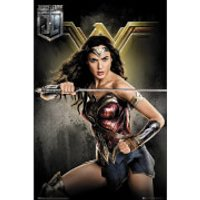 Justice League Wonder Woman Maxi Poster 61 x 91.5cm - Wonder Woman Gifts