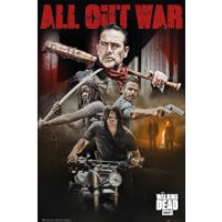 The Walking Dead Season 8 Collage Maxi Poster 61 x 91.5cm - The Walking Dead Gifts