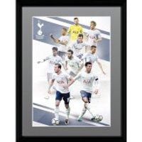 Tottenham Players 17/18 Framed Photograph 12 x 16 Inch - Tottenham Gifts