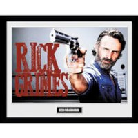 The Walking Dead Rick Grimes Framed Photograph 12 x 16 Inch - The Walking Dead Gifts