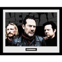 The Walking Dead Negan Crew Framed Photograph 12 x 16 Inch - The Walking Dead Gifts