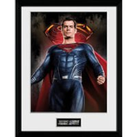 Justice League Superman Solo Framed Photograph 12 x 16 Inch - Superman Gifts